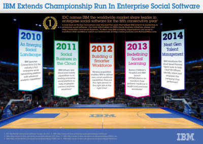 IBM Enterprise Social Software Infographic